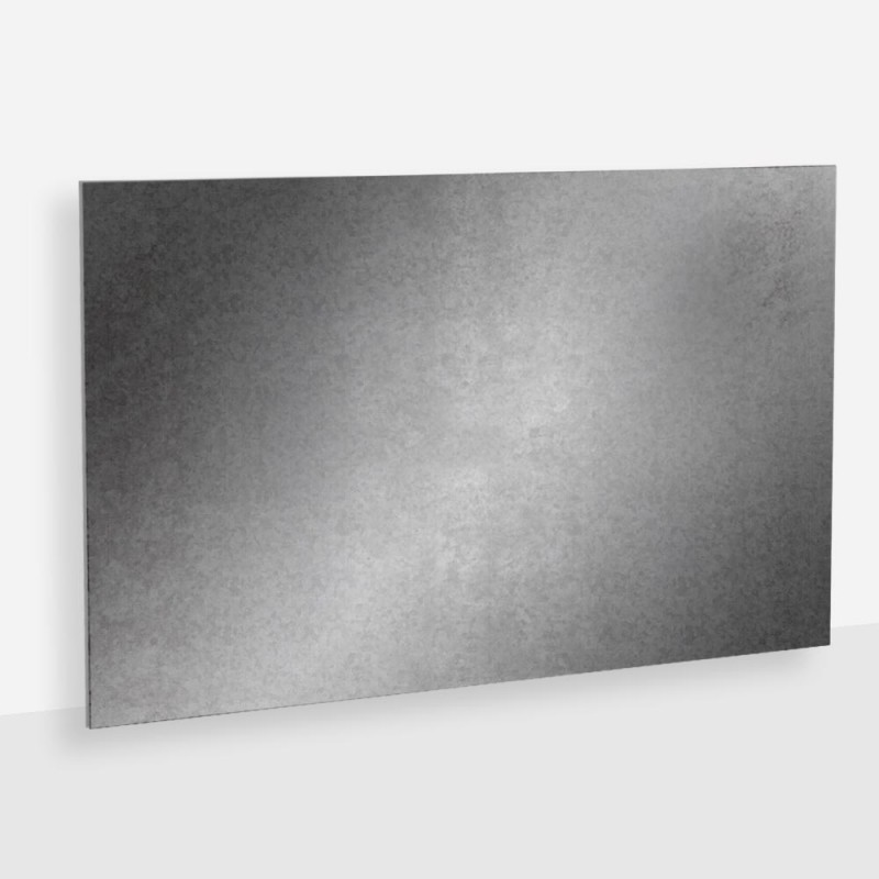 Tôle acier galvanisé 2 mm, Au détail et à la découpe | Laserkit ®
