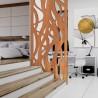 Claustra en acier Corten - Tôle corten pour claustra | Laserkit ®